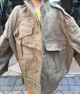 WW2 British Army 1949 Pattern Battle Dress Blouse Size 13. Dated 1954 Excellent