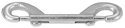 Bolt Snap, Zinc-Plated, 4-1/8 In.