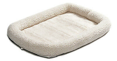 Pet Bed, Fleece/Sheepskin, 30-In.
