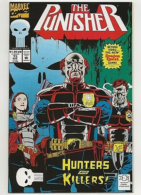 Punisher #73  VF+  Marvel (1987 2nd Series)    *Free Shipping*