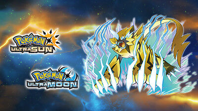 Zeraora DLC Code - Pokemon Ultra Sun & Moon - EU Version PAL Event - LAST CHANCE