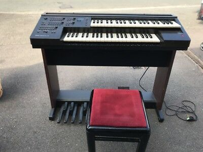 YAMAHA ELECTONE EL7 Organ with stool for sale  - £41 00