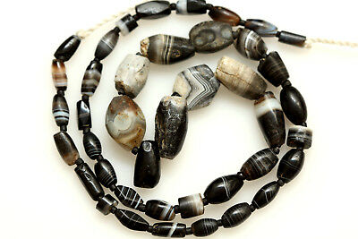 Mix of Sulimani Babagoria Beads from Afghanistan 1000 years old Chung beads.