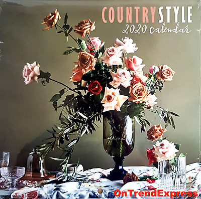2020 Country Style Square Wall Calendar 30x30cm Evocative Rural Images by Bauer