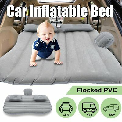 3 Color Car Back Seat Mattress Protable Travel Camping Air Bed Rest Sleeping MZ