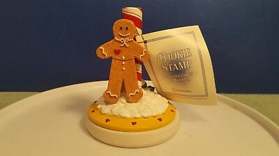 1998 New Market Gingerbread Man Cookie Stamp Instructions & Recipes