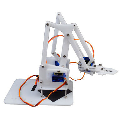4DOF Mechanical Robot Arm Clamp Claw Manipulator DIY Kit for Arduino Robotic
