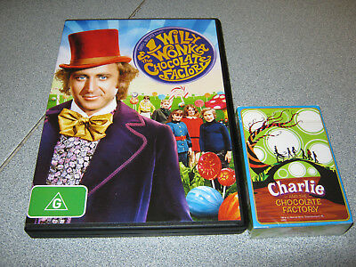 Willy Wonka & The Chocolate Factory Dvd & Playing Cards