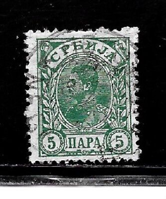 Serbia Stamps- Scott # 49/A7-5p-Canc/LH-1898-1900-NG