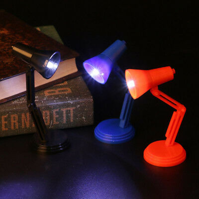 Dollhouse  1:6 Scale Furniture Toy LED Light Pretend Play Miniature table Lamp
