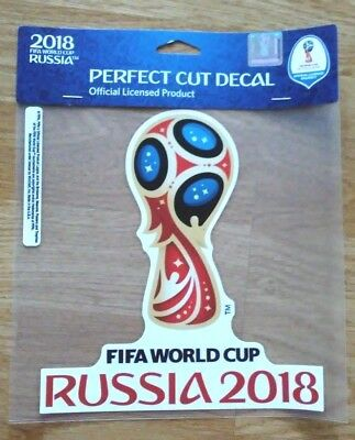2018 Russia FIFA World Cup Perfect Cut Decal NWT