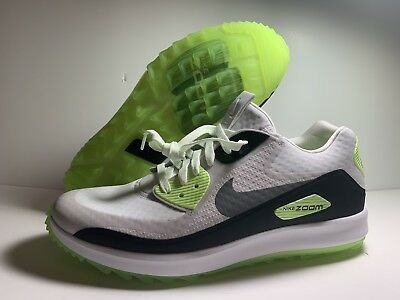 Nike Air Zoom 90 IT Golf Shoes Men s Multi size White Grey Green Neon Rory  Mcllr 1527fdf67