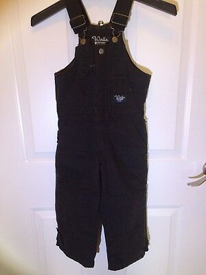 Walls Blizzard Pruf Insulated Bib Overalls Youth Size 4/5 Regular