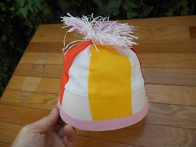 6f9cbd6023278 Vintage Women s Hat Made in Japan Colored Costume Funky Retro Size Large L