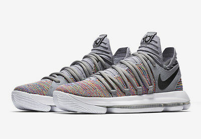 sneakers for cheap 510f7 ffdd9 NIKE ZOOM KD 10 Kd X Men's Shoe's [Size 13.5] Multi-Color/Blk/Grey  897815-900