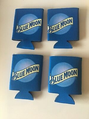 Blue Moon Koozie Beer Can / Bottle Lot Of 4 - New
