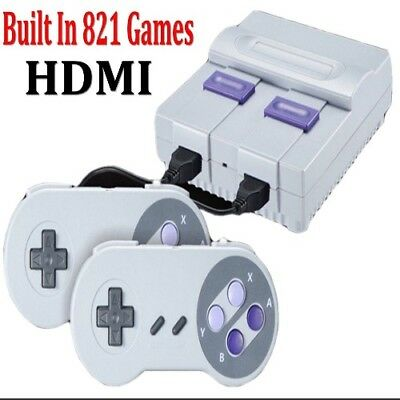 Super Mini HDMI 8Bit Retro Video Game Console Built-in 821 Games Handheld Gaming