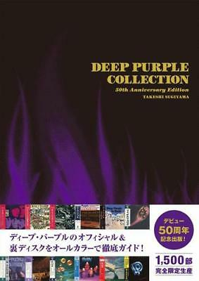 """""""DEEP PURPLE COLLECTION 50th ANNIVERSARY"""" JAPAN BOOK NEW!!! 1500copies limited"""
