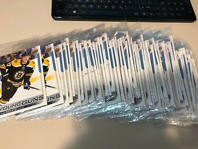 2018-19 UD Series 1 JUMBO Young Guns RC cards complete finish your set U-pick