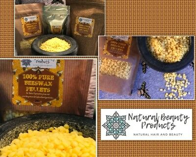 100% Pure Beeswax Pellets Beads Cosmetics Candle Bees Wax-FREE SHIPPING FROM SYD