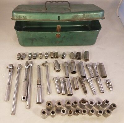 Snapon Snap-On Plomb Tools Stm Tm Tmc With Tool Box 55Pcs Total Made In Usa Vtg