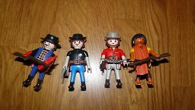 Playmobil Western Custom Lot N°94 De 2 Cowboys 1 Mexicain 1 Sheriff Le Tout c61cad784c1