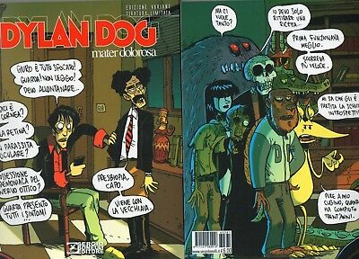 Dylan Dog Mater Dolorosa Lucca 2016 Edizione Variant