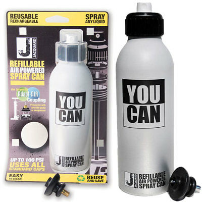Jacquard YouCAN - Refillable, Air Powered Spray Can - Uses All Standard Caps