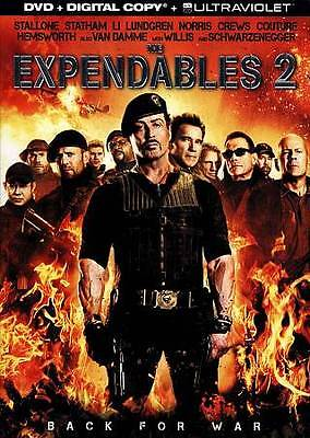 The Expendables 2 (DVD, 2012, Includes Digital Copy UltraViolet) New Sealed