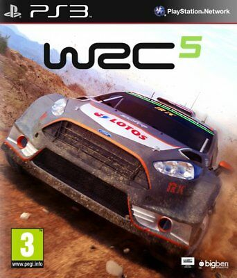 Wrc 5 Fia (World Rally) Ps3 (Playstation 3), Castellano, Store España (No Disco)