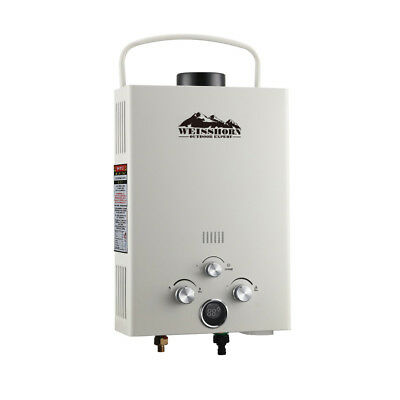 Devanti Portable Hot Water Gas Heater Instant Pump Camping LPG Outdoor Shower