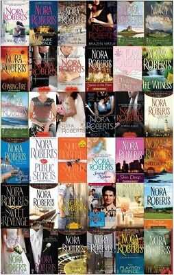 Nora Roberts - Complete bundle of 110 AUDIOBOOKS Collection MP3-DVD