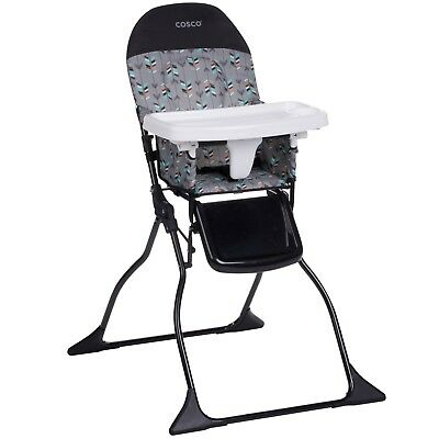 Baby High Chair Full Size Children Food Eating Kids Feeding Seat Adjustable Tray