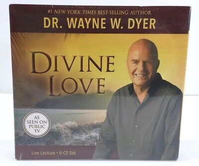 Motivational Inspirational Wayne Dyer Divine Love Audio Cd New in Package