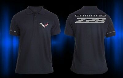 NEW CAMARO Z28 SUPERCHARGE RACING CHEVROLET POLO T-SHIRT SS