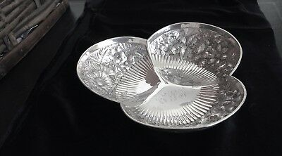 Antique Gorham Repousse Sterling Silver Bowl 1886