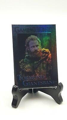 Game Of Thrones Rittenhouse Season 7 Tormund Giantsbane Foil Crad #42