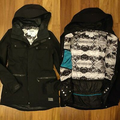 Insulated Snowboard Donna Giacca D'acqua Volcom Eur 15000 Colonne 58CwH4ttqx
