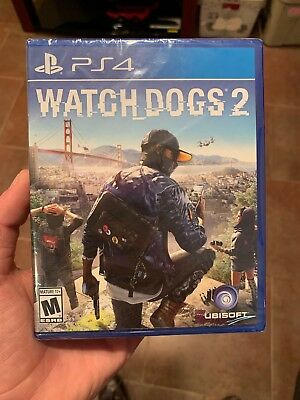 WATCH DOGS 2 PS4 New Playstation 4 Ubisoft Hacker Action