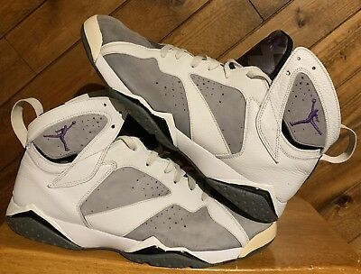 35a7e3db90c NIKE AIR JORDAN VII 7 Retro Flint Grey Mens Size 13 304775-151 ...