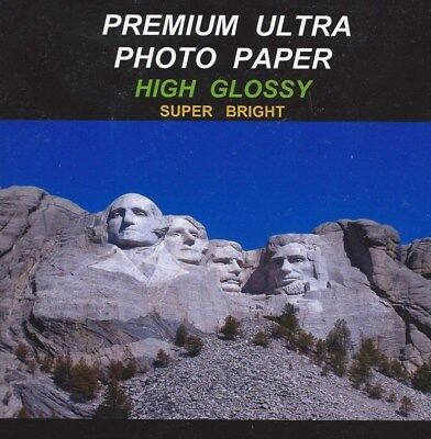 Premium Ultra~Photo Paper~Brilliant-Gloss~200ct~Awesome Color~ WOW!
