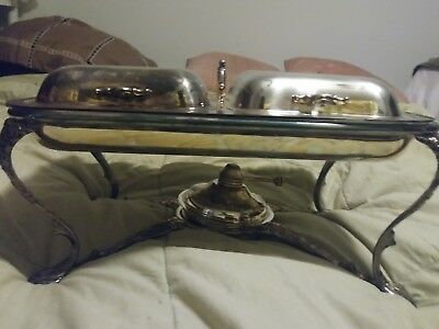 Covered Serving Dish Baroque Wallace Silverplated