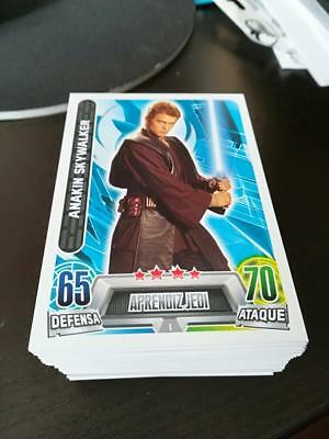 2016 Topps Star Wars Heroes & Villains Force Attax set. Spanish Exclusive.