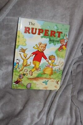 Signed By The Artist 2000 Rupert Annual Mint Condition