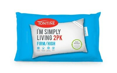 New Tontine I'M Simply Living Firm Two Pack Pillow By OZSALE