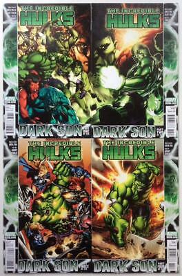 Incredible Hulks #612 to #615 (Marvel 2010) 4 x issues