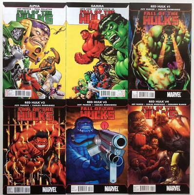 Fall of the Hulks #1 to #4 complete series + 2 x one shots (Marvel 2010)