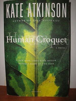 Human Croquet by Kate Atkinson, paperback