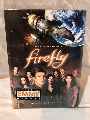 Firefly - The Complete Series (Dvd, 2009, 4-Disc Set) - Brand New - Sealed