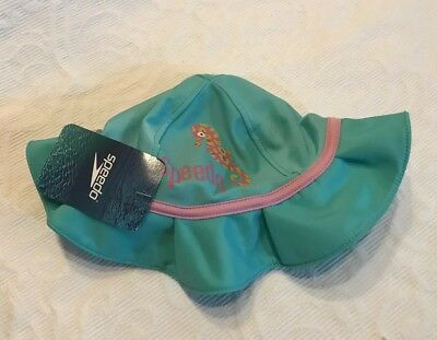 0913f0a3df9 Speedo Bucket Baby Sun Hat Kids S M-BLUE with UV 50+ protect